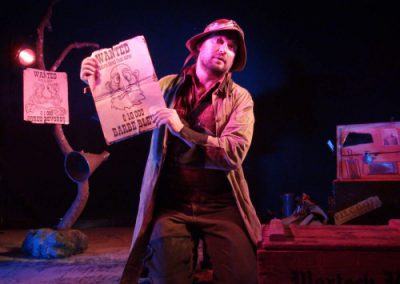 Compagnie Badabulle Spectacle histoire d'ogres wanted Barbe Bleue