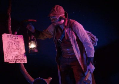 Compagnie Badabulle -Spectacle histoire d'ogres wanted ogrus devored