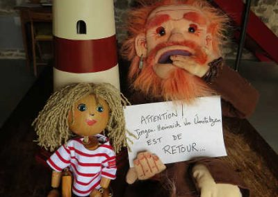 Histoires d'ogres les marionnettes